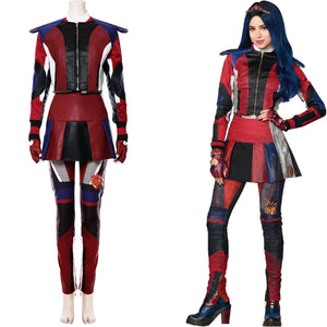 Descendants Los Descendientes 3 Evie Traje Cosplay Disfraz