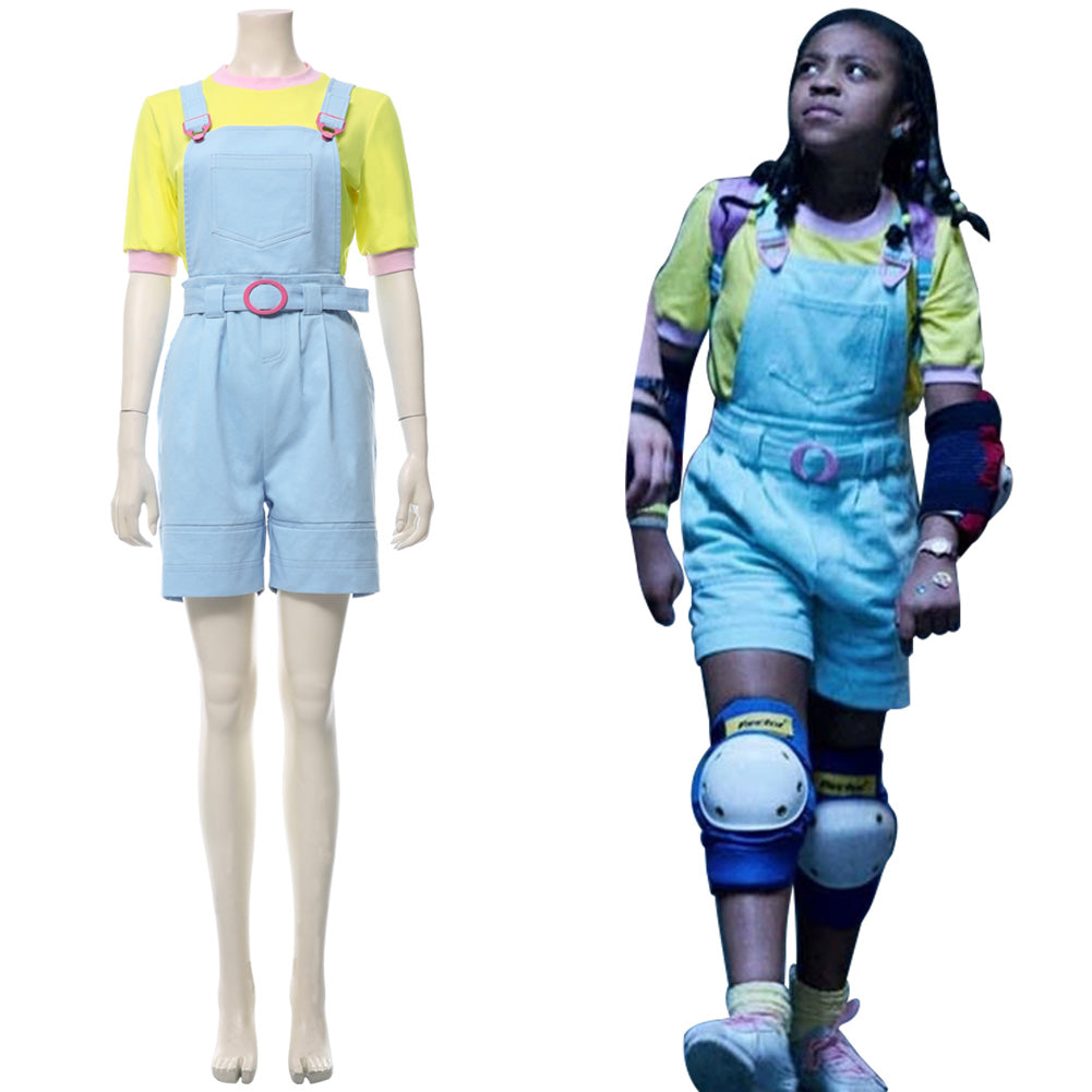 Stranger Things Temporada 3 Erica Sinclair Traje Cosplay Disfraz