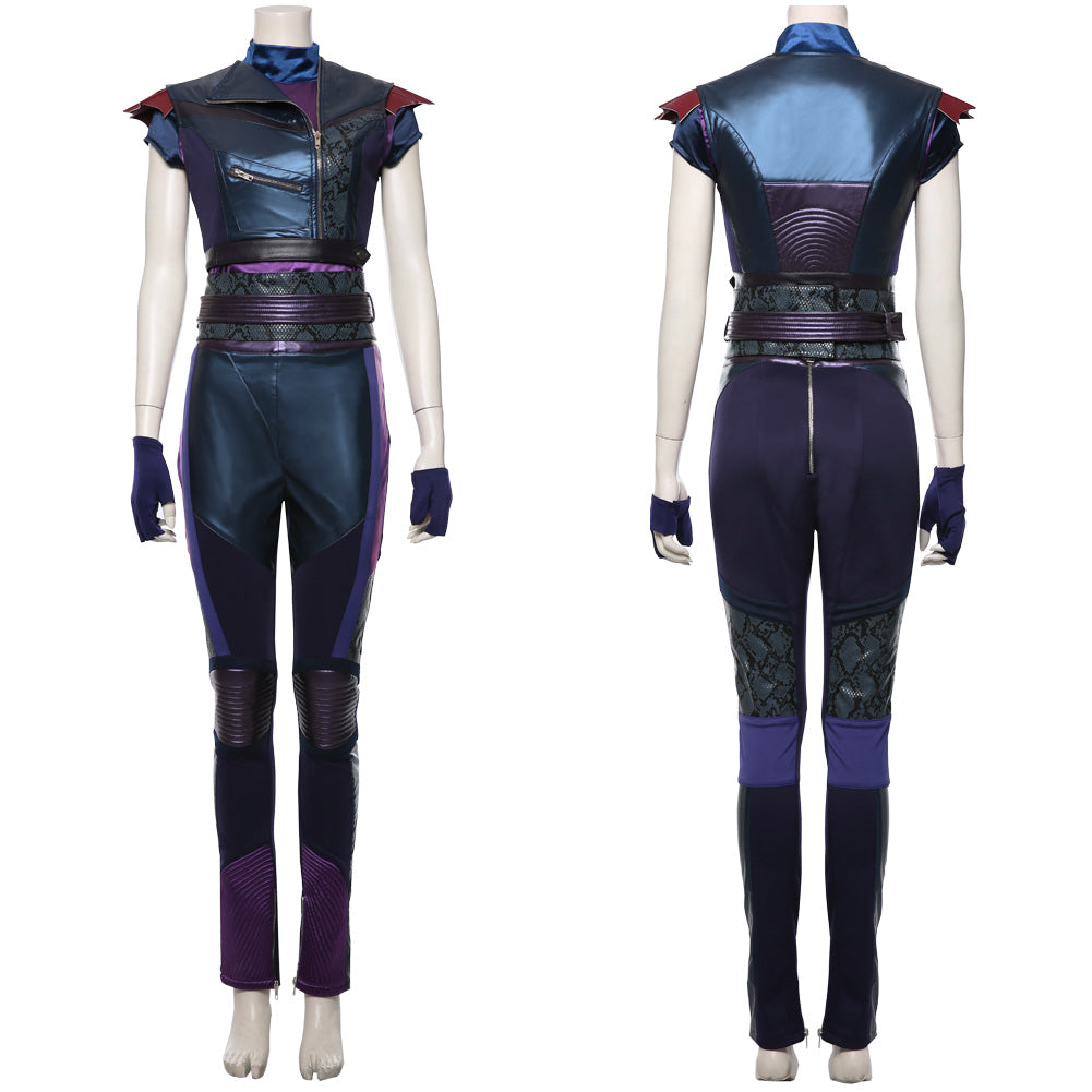 Los Descendientes Descendants 3 Mal Uniforme Cosplay Disfraz