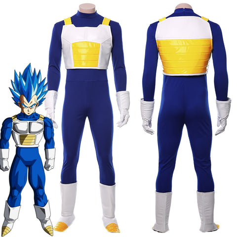 DRAGON BALL Dragonball Z Vegeta IV Uniforme Cosplay Disfraz