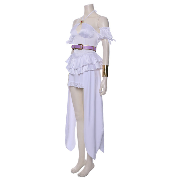 Goddess Lisita Cautious Hero: The Hero Is Overpowered but Overly Cautious Vestido Cosplay Disfraz