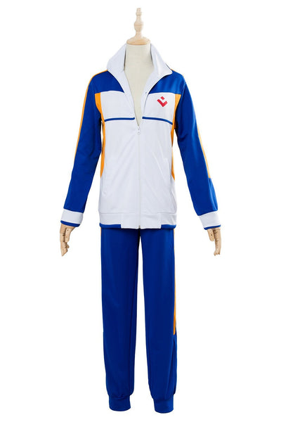 Free Iwatobi Dive to the Future Hidaka Universidad Nanase Haruka Uniforme de Colegio Cosplay Disfraz Unisex