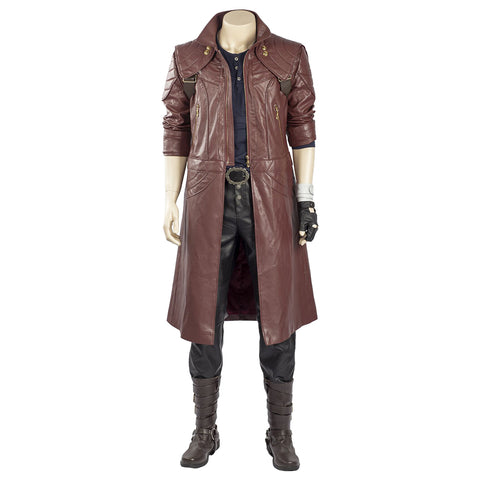 Devil May Cry 5 Dante Solo Chaqueta Cosplay Disfraz