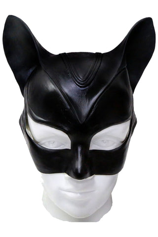 Batman Catwoman Halloween m??scara Latex Helmet Cosplay Props