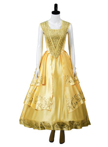 2017 Beauty and the Beast Película La bella y la bestia Bella Vestido Cosplay Disfraz