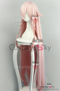 Vocaloid IA Cosplay Peluca Larga Color Rosado Cosplay