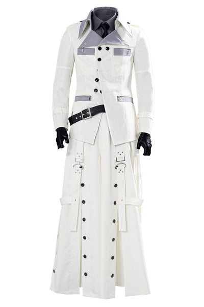 Final Fantasy VII Remake Rufus Shinra Halloween Traje Cosplay Disfraz