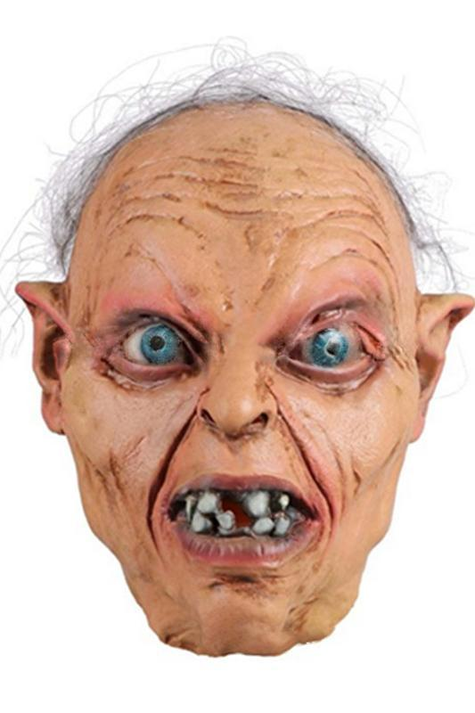 The Lord Of The Rings Gollum Cosplay Máscara de Latex Adulto