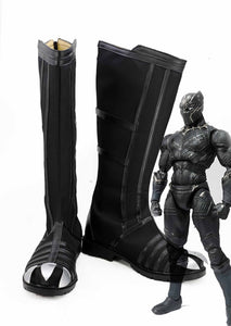 Avengers 3 Captain America Civil War Black Panther Cosplay Zapatos Botas