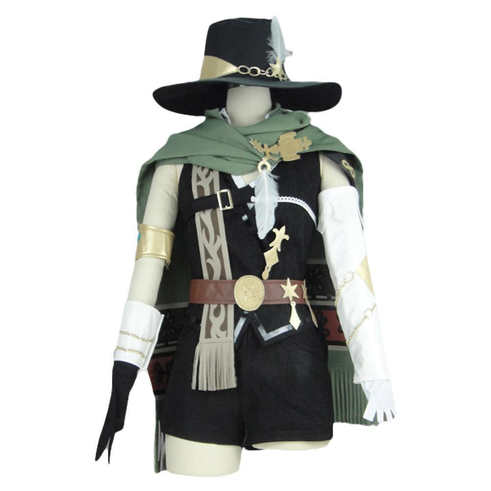 Final Fantasy XIV Physical Ranged DPS Bard Uniforme Cosplay Disfraz