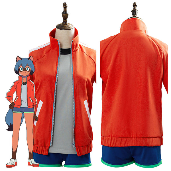 BNA BRAND NEW ANIMAL Kagemori Michiru Cosplay Disfraz