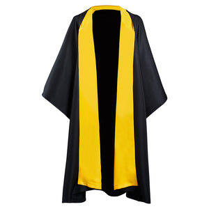 Harry Potter Hufflepuff Magic Gown Robe Toga Mágica de Halloween o Carnaval Cosplay Disfraz