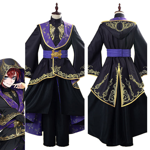 Twisted-Wonderland Uniforme de Halloween o Carnaval Cosplay Disfraz