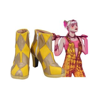 Birds of Prey (And the Fantabulous Emancipation of One Harley Quinn) Cosplay Zapatos