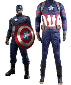 Captain America: Civil War Steve Rogers Uniform Cosplay disfraz