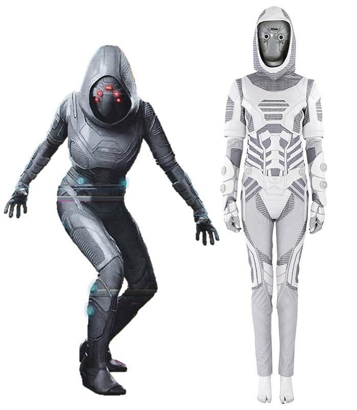 Ant-Man and the Wasp Traje de Ghost Cosplay Disfraz