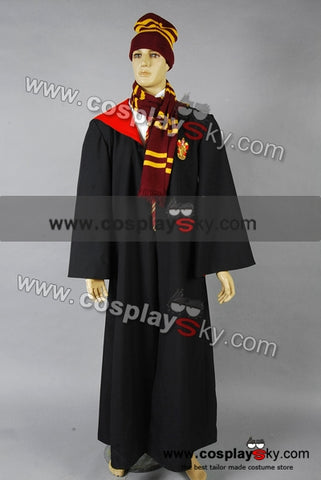 Harry Potter Gryffindor of Hogwarts Bata Roja Cosplay Disfraz