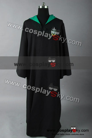 Harry Potter Slytherin of Hogwarts Bata Cosplay Disfraz