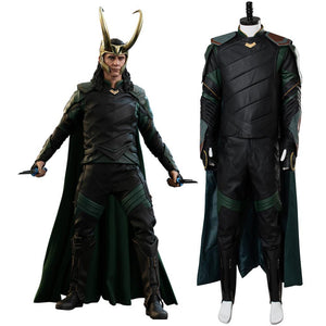 Thor 3 Ragnarok Loki Outfit Whole Set Cosplay disfraz