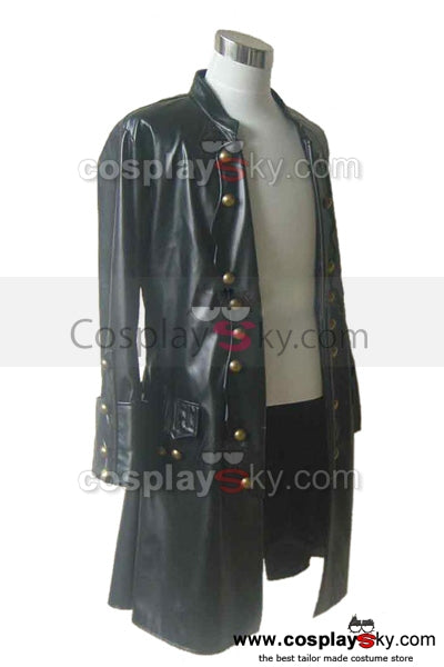Pirates of the Caribbean Will Turner Chaqueta Cosplay Disfraz