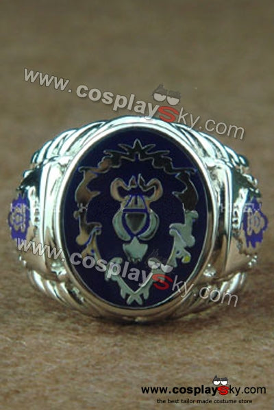 World of Warcraft WOW Alliance Anillo Versión B