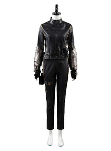 Agents of Shield S.H.I.E.L.D Quake Daisy Johnson Skay Uniforme Cosplay Disfraz