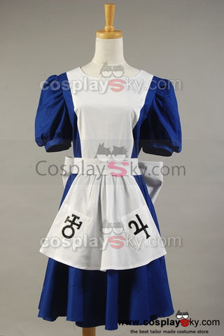 Alice Madness Returns y American McGee's Alice Cosplay Disfraz Vestido