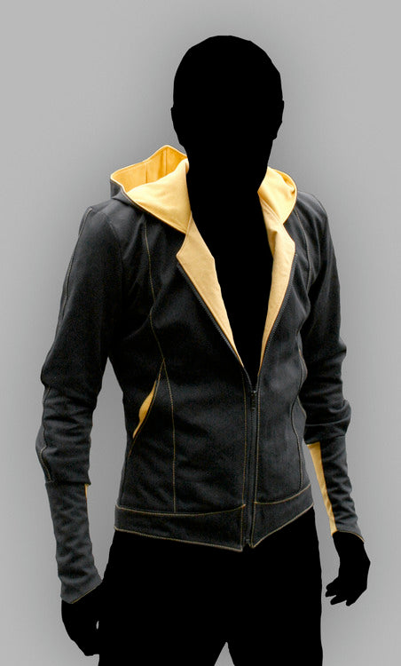 Assassin's Creed Revelations Daniel Cross Chaqueta con Capucha Cosplay Disfraz