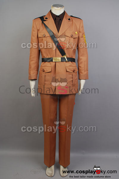 Hetalia: Axis Powers 2P Italia Uniforme Cosplay Disfraz