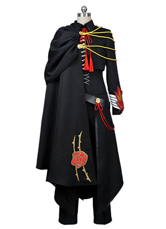 Code Geass Hangyaku no Lelouch & Lelouch of the Rebellion Uniforme Negro Cosplay Disfraz