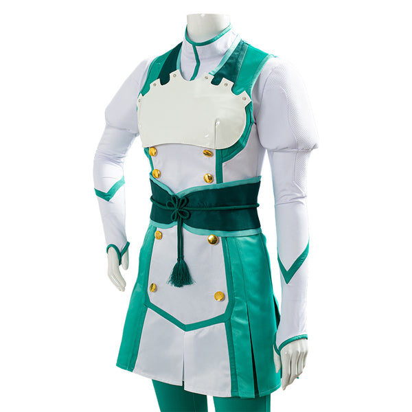 Project Sakura War Claris Uniforme de Batalla Traje Cosplay Disfraz