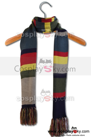 Doctor Who Cuarto Dr. Bufando Rayado Doctor Tom Baker 12' × 8.5''