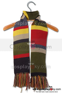 Doctor Who Cuarto Dr. Bufando Rayado Doctor Tom Baker 6' × 5.7''