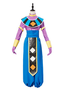 Dragon Ball Dios de la Destruccion Beerus Cosplay Disfraz