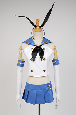 Kantai Collection Kan Colle Destructor Japonés Shimakaze Cosplay Disfraz