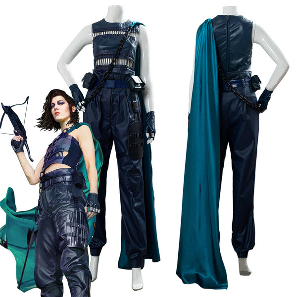 Birds of Prey Huntress Traje Cosplay Disfraz