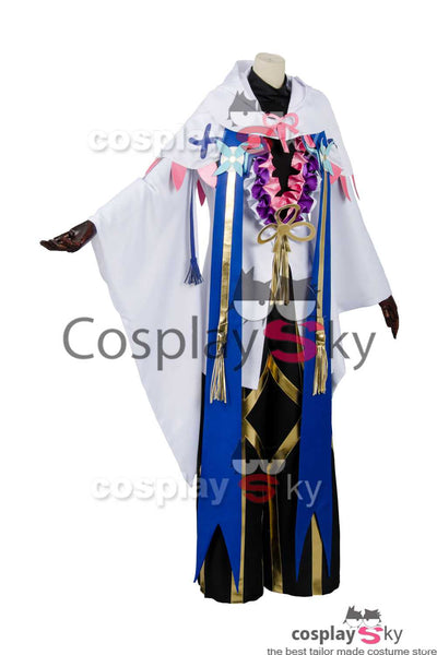 Fate Grand Order Caster Merlin Ambrosius Cosplay Disfraz