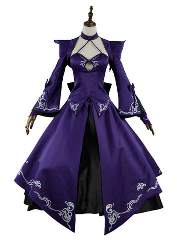 Fate Grand Order FGO Saber Alter Stage 3 Vestido Cosplay Disfraz