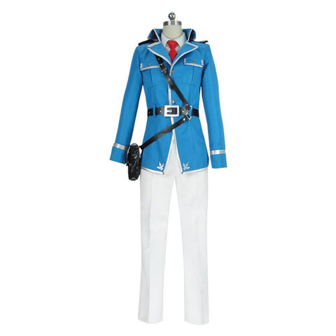 Sword Art Online Alicization War of Underworld Eugeo Uniforme Militar Cosplay Disfraz
