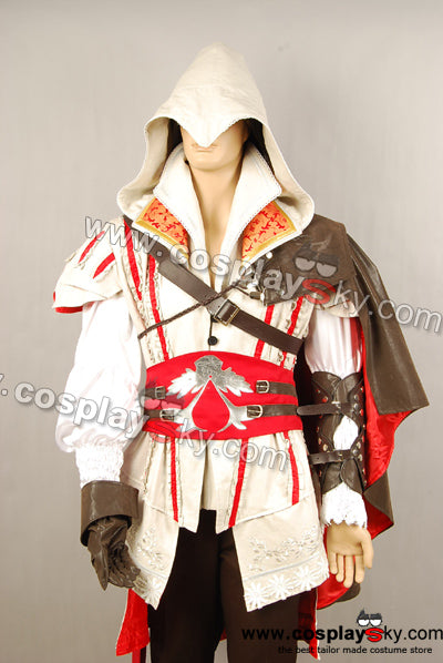 Assassin's Creed 2 II Ezio Cosplay Disfraz Traje