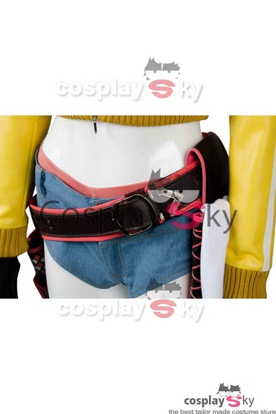 Final Fantasy XV  FF15 Cindy Aurum Gas Station Service Uniforme Cosplay Disfraz