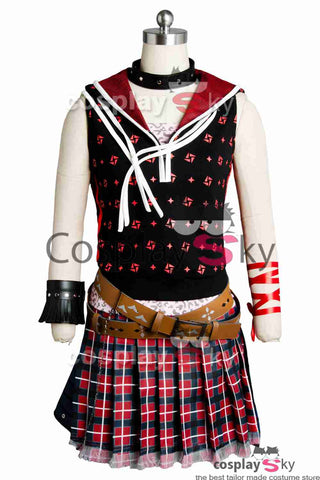 Final Fantasy XV FF 15 Iris Amicitia Vestido Uniforme Cosplay Disfraz