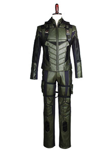 Arrow Flecha Verde Temporada 5 Oliver Queen Cosplay Disfraz