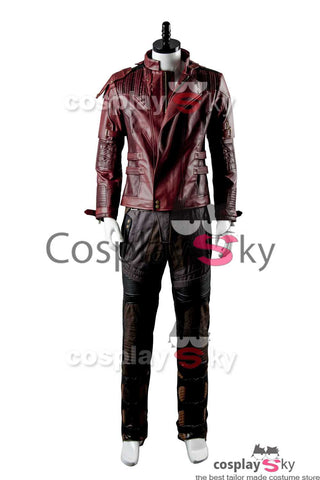 Guardianes de la Galaxia2 Guardians of the Galaxy 2 Peter Jason Quill Starlord Cosplay Disfraz( Sin camiseta)