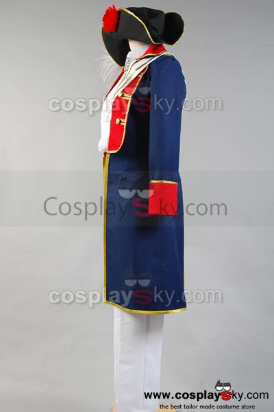 Hetalia: Axis Powers Prusia Cosplay Disfraz