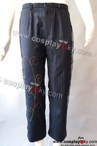 Alice In Wonderland Johnny Depp Mad Hatter Pantalones Cosplay Disfraz