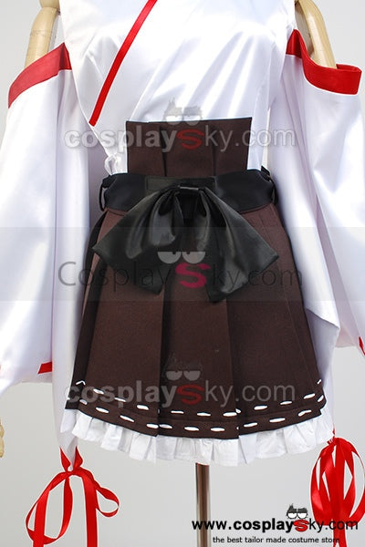Kantai Collection Kan Colle Barco de Guerra Japonés Kongō Cosplay Disfraz