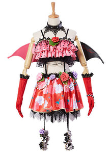 LoveLive! SR Nico Yazawa Little Devil Transformed Halloween Cosplay Disfraz