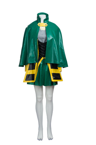 Marvel Avengers Thor Loki Female Version Vestido Cosplay Disfraz