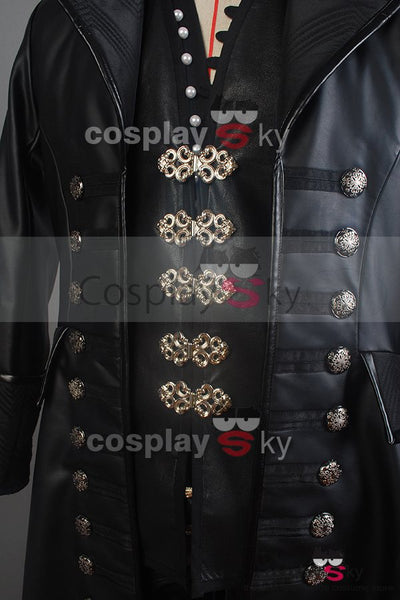 Once Upon A Time Capitán Hook Cosplay Disfraz